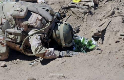 Iraq, trovate 10 fosse comuni con 1700 soldati iracheni 3