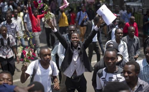 Proteste contro il governo a Nairobi 7