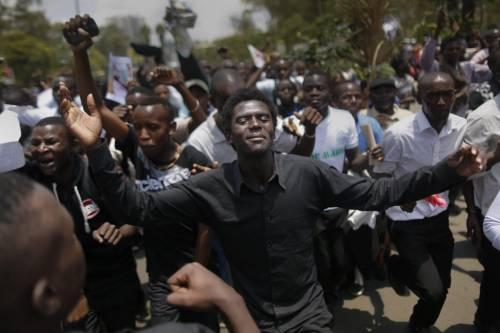 Proteste contro il governo a Nairobi 5