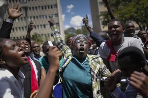 Proteste contro il governo a Nairobi 9