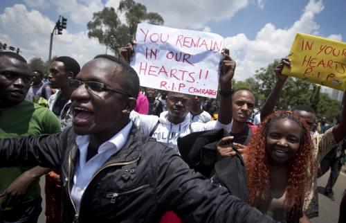 Proteste contro il governo a Nairobi 10