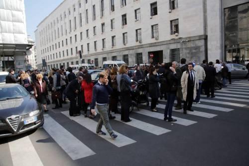 Milano, sparatoria al tribunale 3