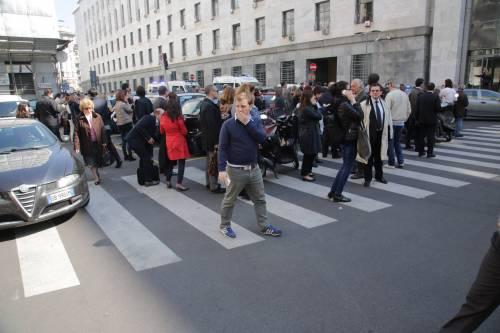 Milano, sparatoria al tribunale 5