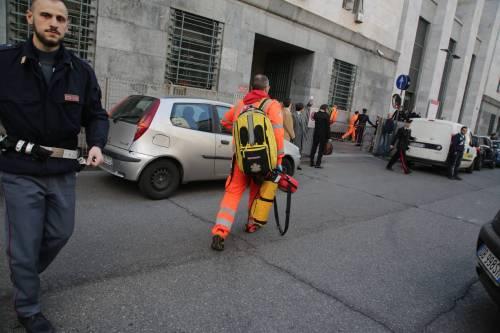 Milano, sparatoria al tribunale 7