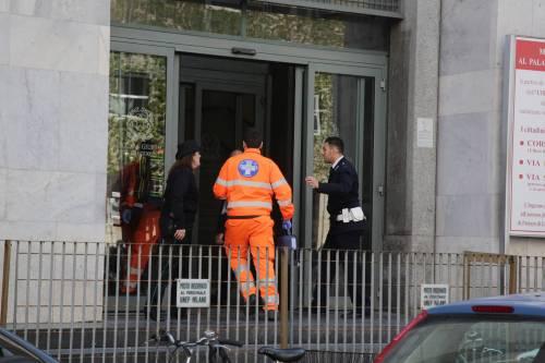 Milano, sparatoria al tribunale 6