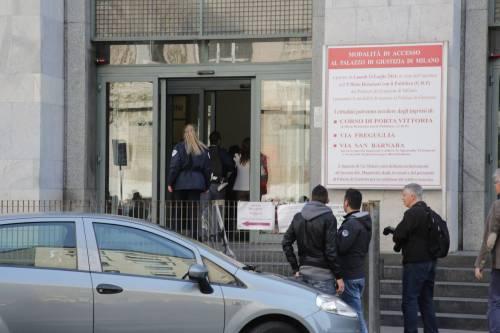 Milano, sparatoria al tribunale 9