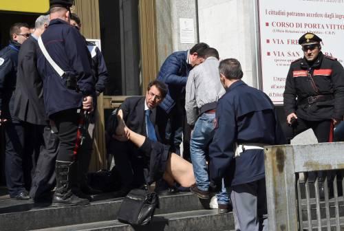 Spari al tribunale di Milano: le immagini dall'interno 8