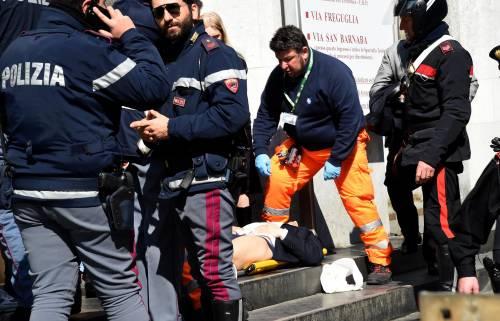 Spari al tribunale di Milano: le immagini dall'interno 2