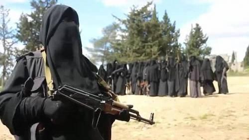 Le guerriere della Jihad in Siria 2