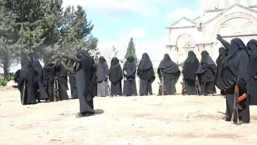 Le guerriere della Jihad in Siria 4