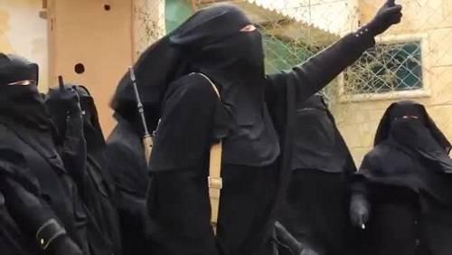 Le guerriere della Jihad in Siria 5
