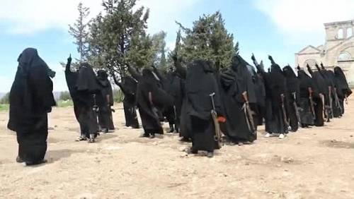 Le guerriere della Jihad in Siria 7