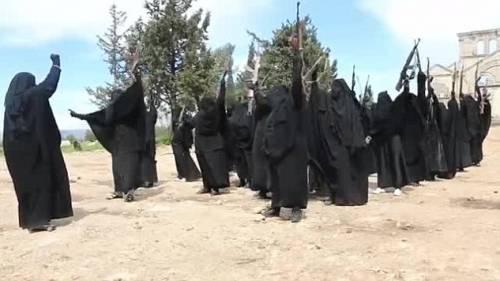 Le guerriere della Jihad in Siria 6