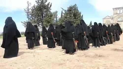 Le guerriere della Jihad in Siria 10