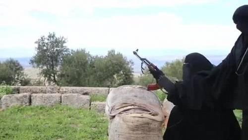 Le guerriere della Jihad in Siria 9