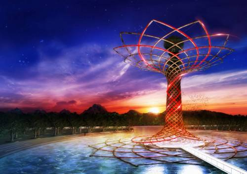 Albero della Vita, fiorisce il simbolo di Expo e Padiglione Italia