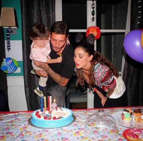 Belen e Stefano festeggiano i 2 anni di Santiago 2