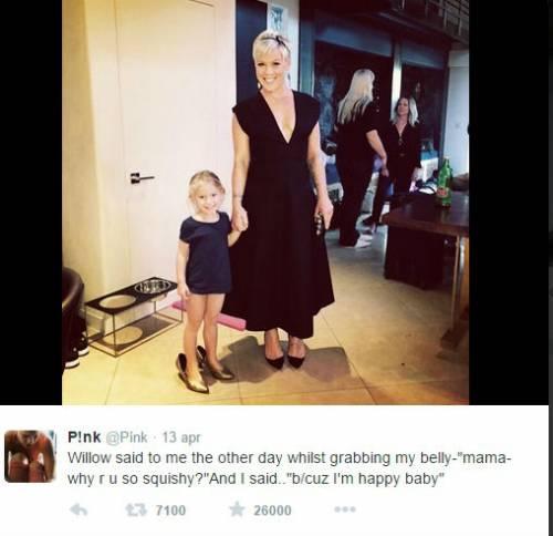 Pink risponde alle critiche sul suo peso 3
