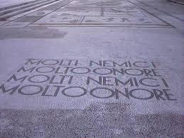 Foro Italico, Stadio dei Marmi: ecco i mosaici dedicati al Duce 2