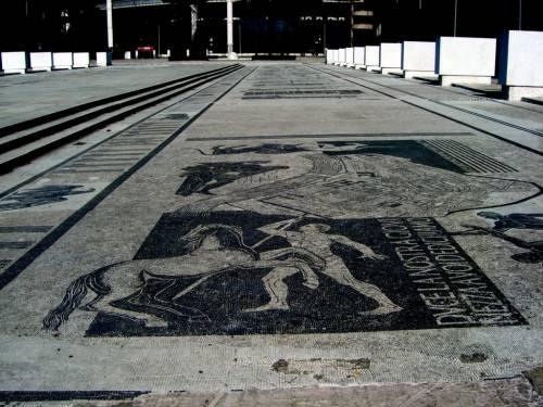 Foro Italico, Stadio dei Marmi: ecco i mosaici dedicati al Duce 5