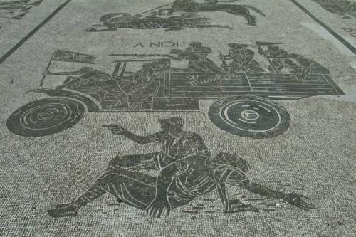 Foro Italico, Stadio dei Marmi: ecco i mosaici dedicati al Duce 4