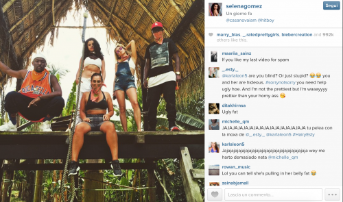 Selena Gomez su Instagram, le foto sexy 8