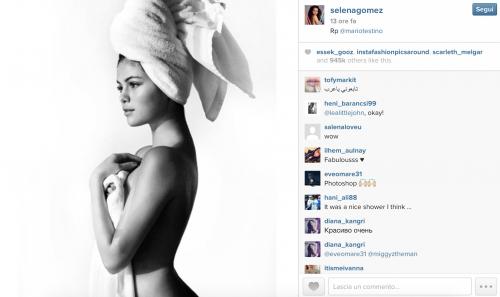 Selena Gomez su Instagram, le foto sexy 1