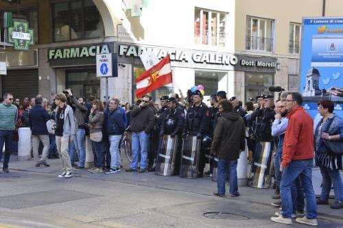 Le contestazioni a Salvini a Livorno 2