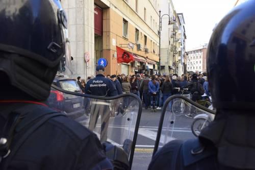 Le contestazioni a Salvini a Livorno 5