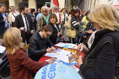 Le contestazioni a Salvini a Livorno 10