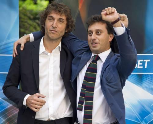 """Il """"duo"""" de La Zanzara, Giuseppe Cruciani e David Parenzo"""
