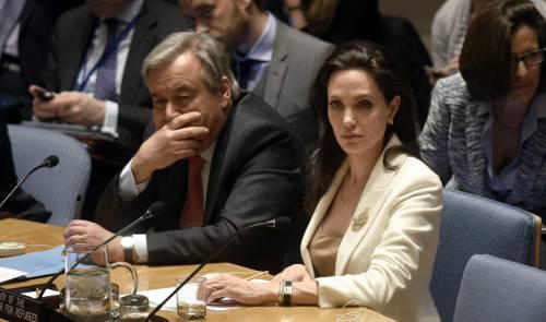 Angelina Jolie fa appello all'Onu per la Siria