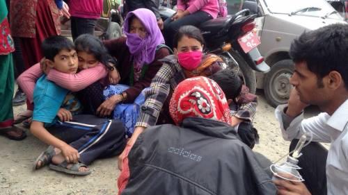 Un forte terremoto a Kathmandu 3