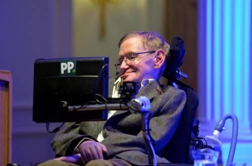 L'universo secondo Hawking è un uovo che cade per terra