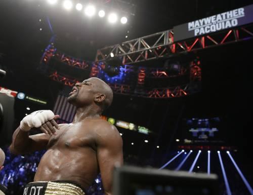 Floyd Mayweather ha sconfitto Manny Pacquiao 2