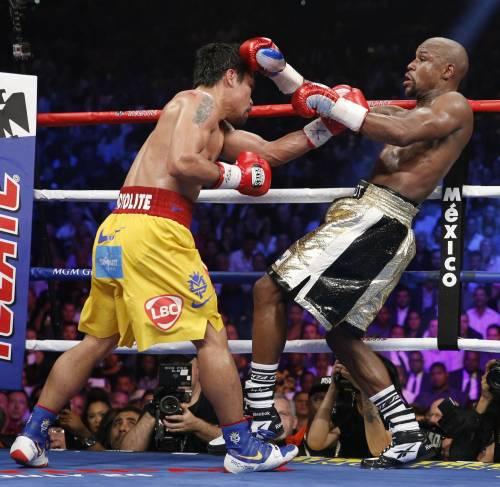 Floyd Mayweather ha sconfitto Manny Pacquiao 9