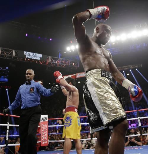 Floyd Mayweather ha sconfitto Manny Pacquiao 11