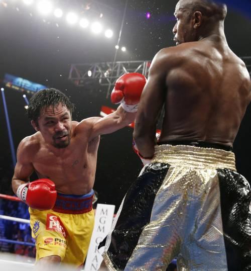 Floyd Mayweather ha sconfitto Manny Pacquiao 3