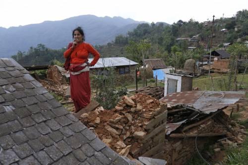 Il villaggio distrutto di Pokharidanda 3