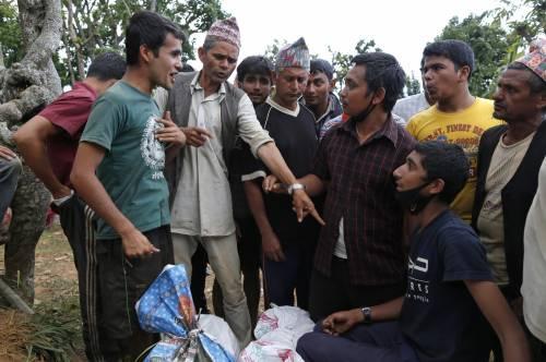 Il villaggio distrutto di Pokharidanda 6
