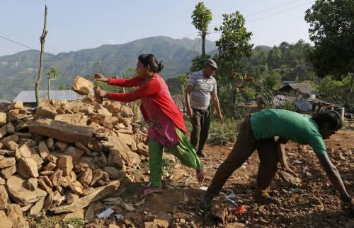 Il villaggio distrutto di Pokharidanda 9
