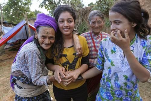 Il villaggio distrutto di Pokharidanda 7