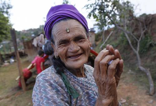 Il villaggio distrutto di Pokharidanda 8
