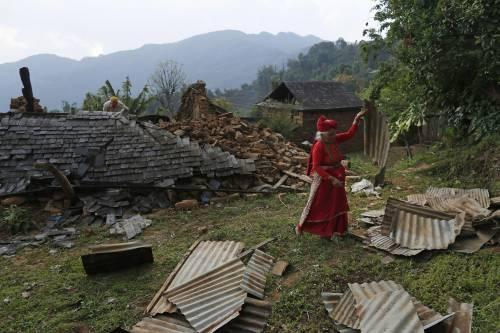 Il villaggio distrutto di Pokharidanda 11