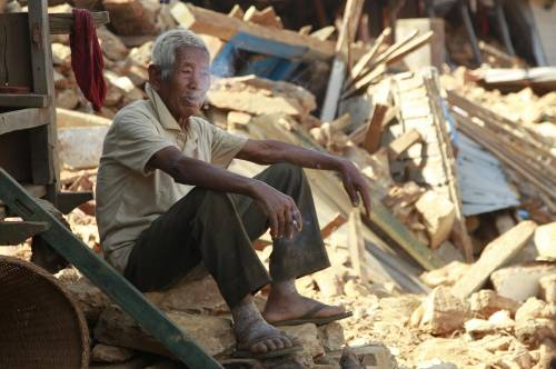 Il villaggio distrutto di Pokharidanda 14