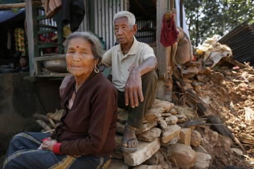Il villaggio distrutto di Pokharidanda 13