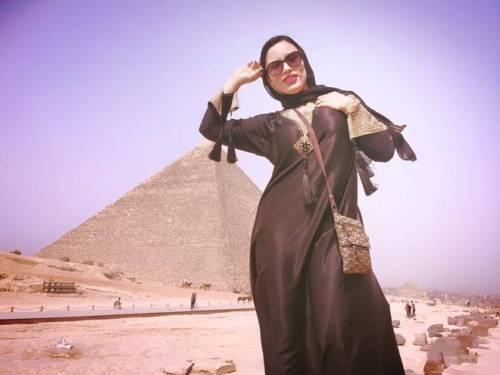 Carmen De Luz, scatti hard tra le piramidi 4