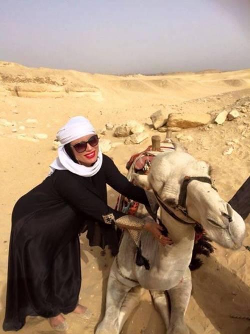 Carmen De Luz, scatti hard tra le piramidi 5