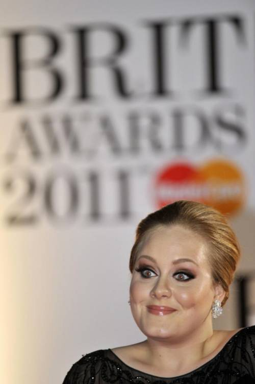 La cantante Adele, le foto 5