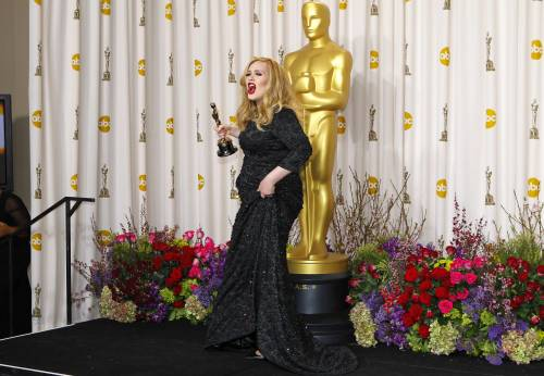 La cantante Adele, le foto 9